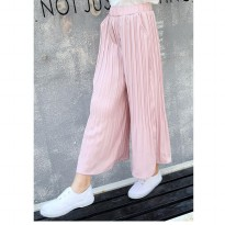Cutevina - Girls Fashion Long Pant Pink / Celana Panjang Anak 5-14th (TN17012)