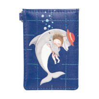 IPC Mansion Selected Jimmy Dolphin Card Holder Dompet Kartu - Blue