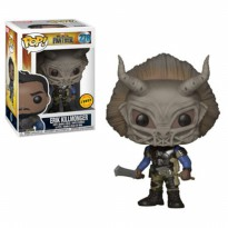 Funko POP Marvel Black Panther (Movie) - Masked Erik Killmonger CHASE