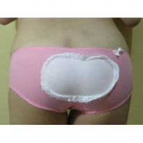 Ribbon Lovely Organic Cotton CD Brief Seksi Underwear Panties Bikini
