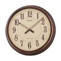 SEIKO QXD212B Westminster Dual Chime Wall Clock Jam Dinding - Brown [51 cm]