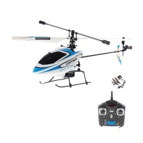 WL V911 4.5 Channel RC Helicopter - Biru