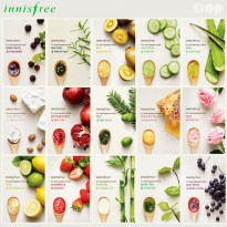 INNISFREE MASK IT'S REAL SQUEEZE - Masker Wajah- Sheet Mask