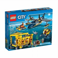 Lego Sands 60096 City Deep See Operation Base Mainan Blok & Puzzle