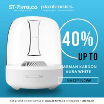 Harman Kardon Aura Studio Wireless Bluetooth Speaker - Putih