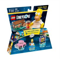 Lego Dimensions Level Pack : The Simpsons 71202 Mainan Block & Puzzle