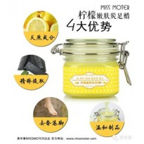 MISS MOTER LEMON REJUVENATION CARBON FOOT WAX/ MISS MOTER KAKI
