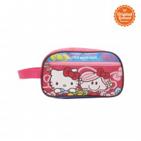 Pencil Case Hello Kitty Little Miss Hug Red