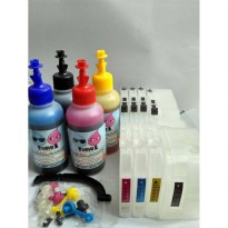 CISS Brother - Refillable System (Infus Untuk Brother) w/ Korean Ink