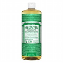 Dr. Bronner's Pure-Castile Liquid Soap Almond - 946 Ml