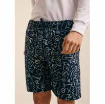 VERTICAL Men Short Pants Tribal Pattern