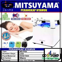 PERANGKAP NYAMUK MITSUYAMA LED MS PN4 MINI NIGHT LAMP ST0089