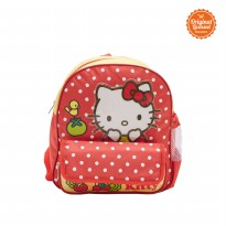 Small Backpack Hello Kitty Red Yellow