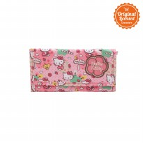 Long Fold Wallet Hello Kitty Pink