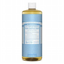 Dr. Bronner's Baby Unscented Pure - Castile Soap 946 Ml