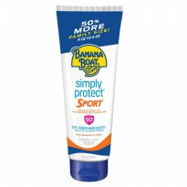 Banana Boat Simply Protect Sport Sunscreen Lotion SPF50 270ml