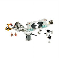 Lego Hoth Rebel Base 7666 Mainan Blok & Puzzle