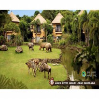 Bali: Mara River Safari Lodge Bali - 1 nite @ Swala Deluxe Room incl. daily b'fast