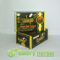 Kapsul Assalam Premium Gold (Herbal Asam Urat dan Flu Tulang)