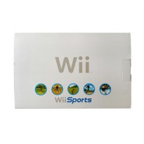 Nintendo Wii with 2 Remote Nunchuck & HDD 500 GB Game Console - Putih [Refurbished]