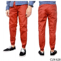 Celana Jogger Distro Stretch Orange – CLN 628