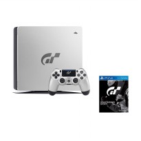 Daily Deals - SONY PlayStation 4 Slim Gran Turismo Sport Special Edition Game Console - Silver Black