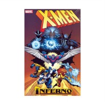 Marvel Comics X-Men Inferno HC Buku Komik