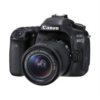 Canon EOS 80D Kit EF-S 18-55mm IS STM Built-in Wifi