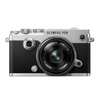 Olympus PEN-F Kit 17mm F/1.8 Kamera Mirrorlees - Silver