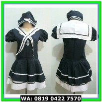 (Mini Dress) COSTUME SAILOR