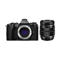 Olympus OM-D E-M5 Mark II Kit Lens 12-40mm F2.8 Kamera Mirrorless - Hitam