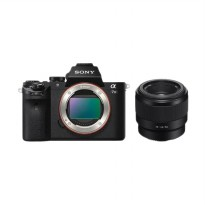 Sony A ILCE 7 M2 + Lens SEL 50mm f/1.8 Full Frame Kamera Mirrorless
