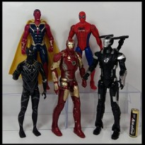 Mainan Action Mini Figure Pajangan Super Hero Avengers Avenger Marvel
