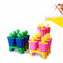 [IKEA] Pembuat Es Loli, Ice pop maker, Ice Cream Molding, Cetakan Es Ice Lolly Maker - isi 6 pcs