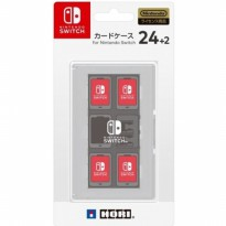 Nintendo Switch HORI Card Case 24+2 White