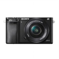 SONY ALPHA 6000 ILCE-6000L (BLACK) 24.3MP + E PZ 16-50mm F3.5-5.6 OSS Power Zoom Lens Kit + Screen G
