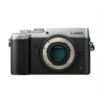 Panasonic Lumix DMC-GX8 Body Only Kamera Mirrorless - Silver