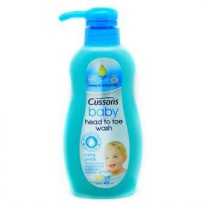 CUSSONS BABY HEAD TO TOE MILDGENTLE 400ML PUMP