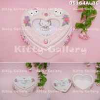 Jewellery box ( kotak perhiasan ) hello kitty wedding 05164