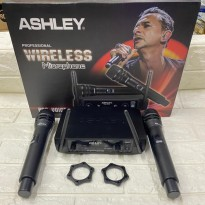 Mic Wirelles Ashley PRO Voice Isi 2 Mic Pegang