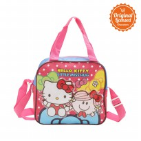 Sling Bag Hello Kitty and Little Miss Hug Fuchsia