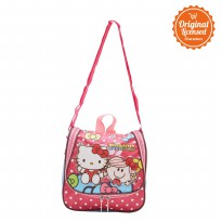 Lunch Bag Hello Kitty and Little Miss Hug Fuchsia