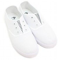 Dr.Kevin Soft & Comfortable Man Slip-On 9313 White