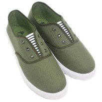 Dr.Kevin Soft & Comfortable Man Slip-On 9313 Green