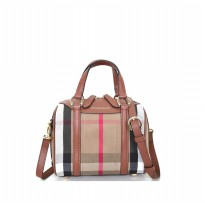 Tas Wanita Import Burberry Small Alchester Bowling Bag