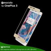 OnePlus 3 / 3T - Full Cover Mocolo Premium Tempered Glass Warna Japan