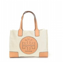 Authentic TB Ella Canvas Tote Small
