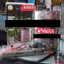 ALAT SEMPROT HAMA Hand Sprayer Stainless Steel SWAN SA