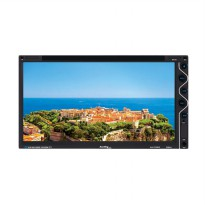 Audiolink Alk-Tv6935 Double Din Dvd-Tv Monitor Touch Screen [6.95 Inch]