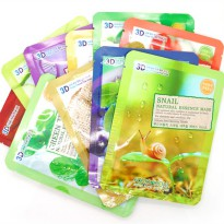 (3pcs) Food A Holic 3D Face Mask Specialists